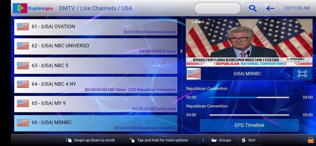 DMTV.Live duplex iptv